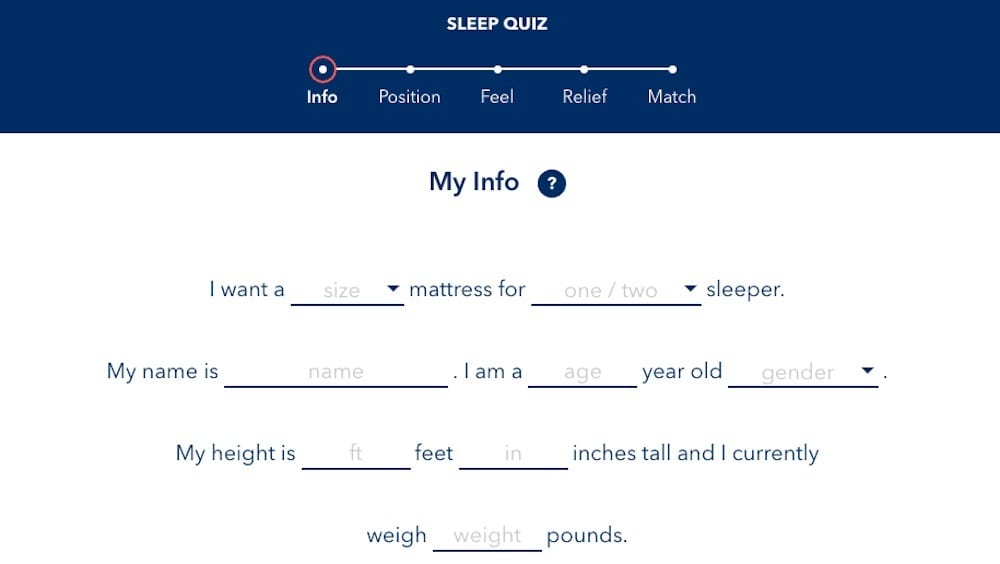 helix sleep mattress review sleep quiz online
