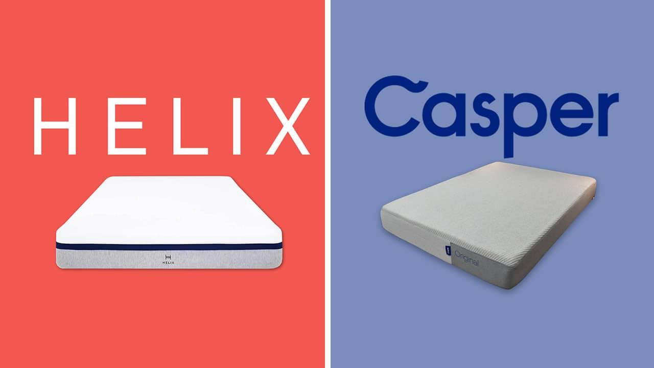 Helix vs Casper Mattress