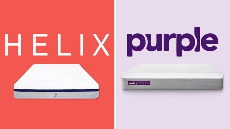 Helix vs Purple Mattress Comparison