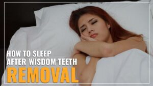how to sleep after wisdom teeth removal
