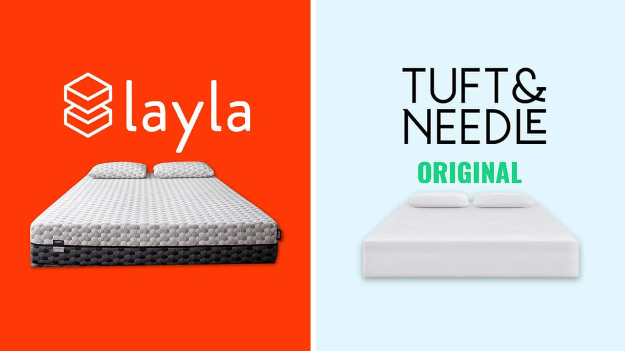 layla vs tuft and needle mattress review