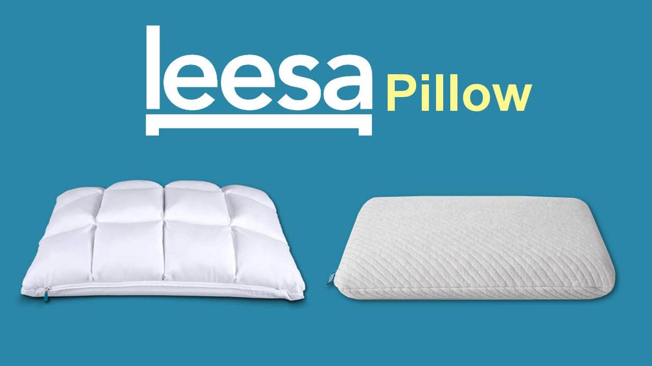 leesa pillow review hybrid and premium foam