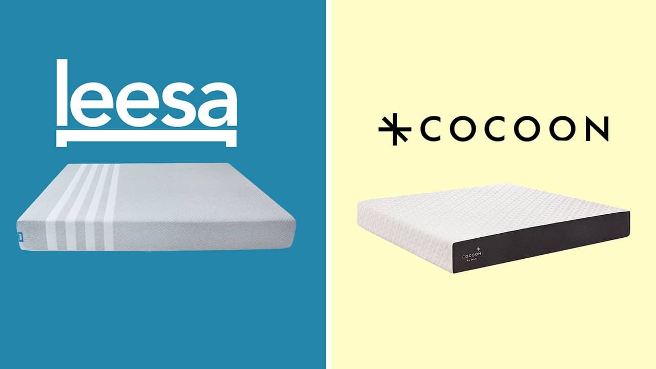 leesa vs cocoon sealy mattress review