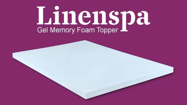 Linenspa Mattress Topper Review (Gel Memory Foam)