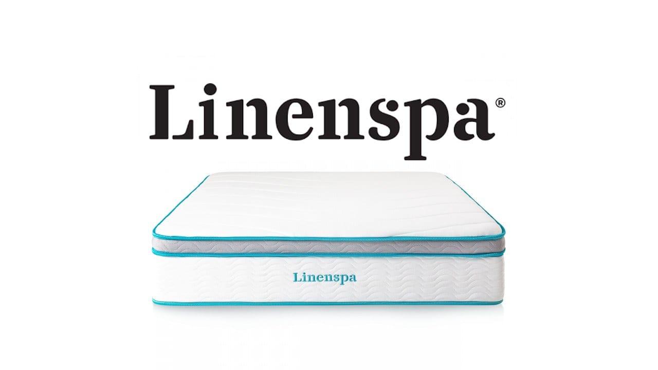 "Linenspa 12"" Memory Foam Hybrid"