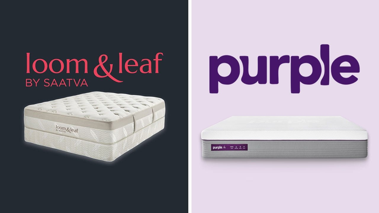 Loom and Leaf vs Purple Mattress