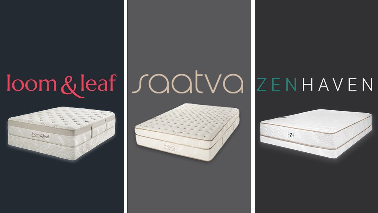 Loom Amp Leaf Vs Saatva Vs Zenhaven Mattress Review