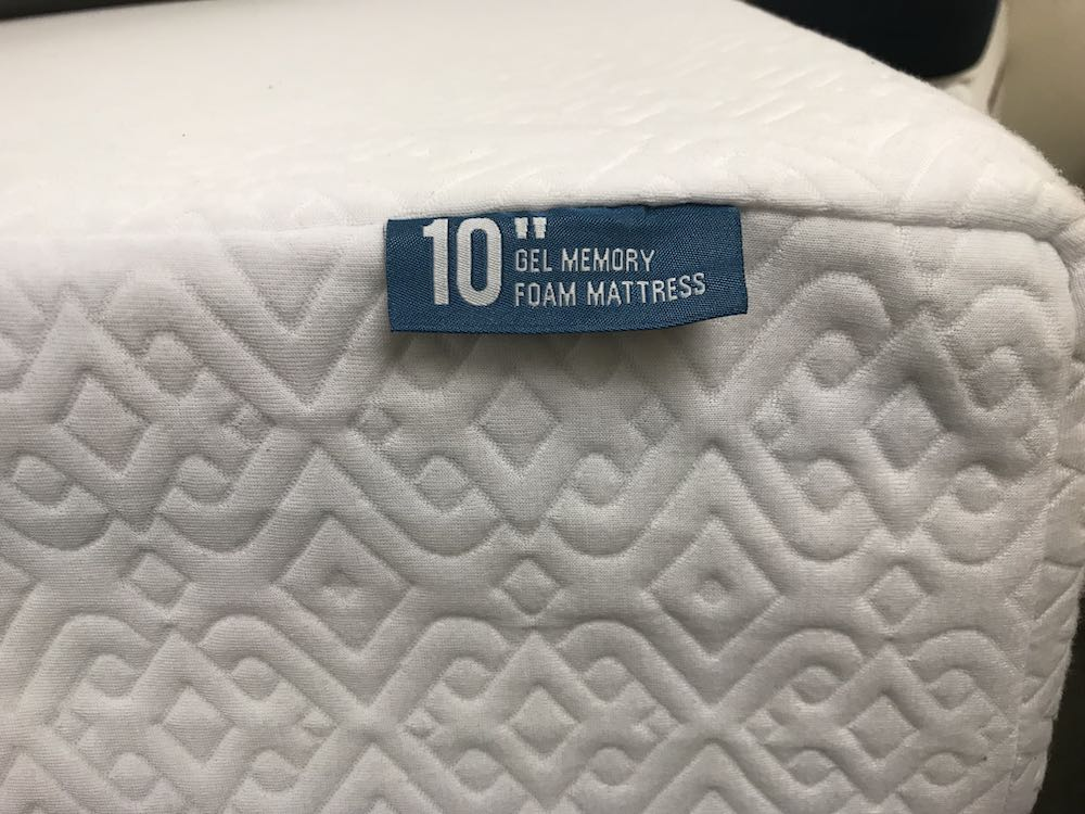 lucid gel memory foam mattress review