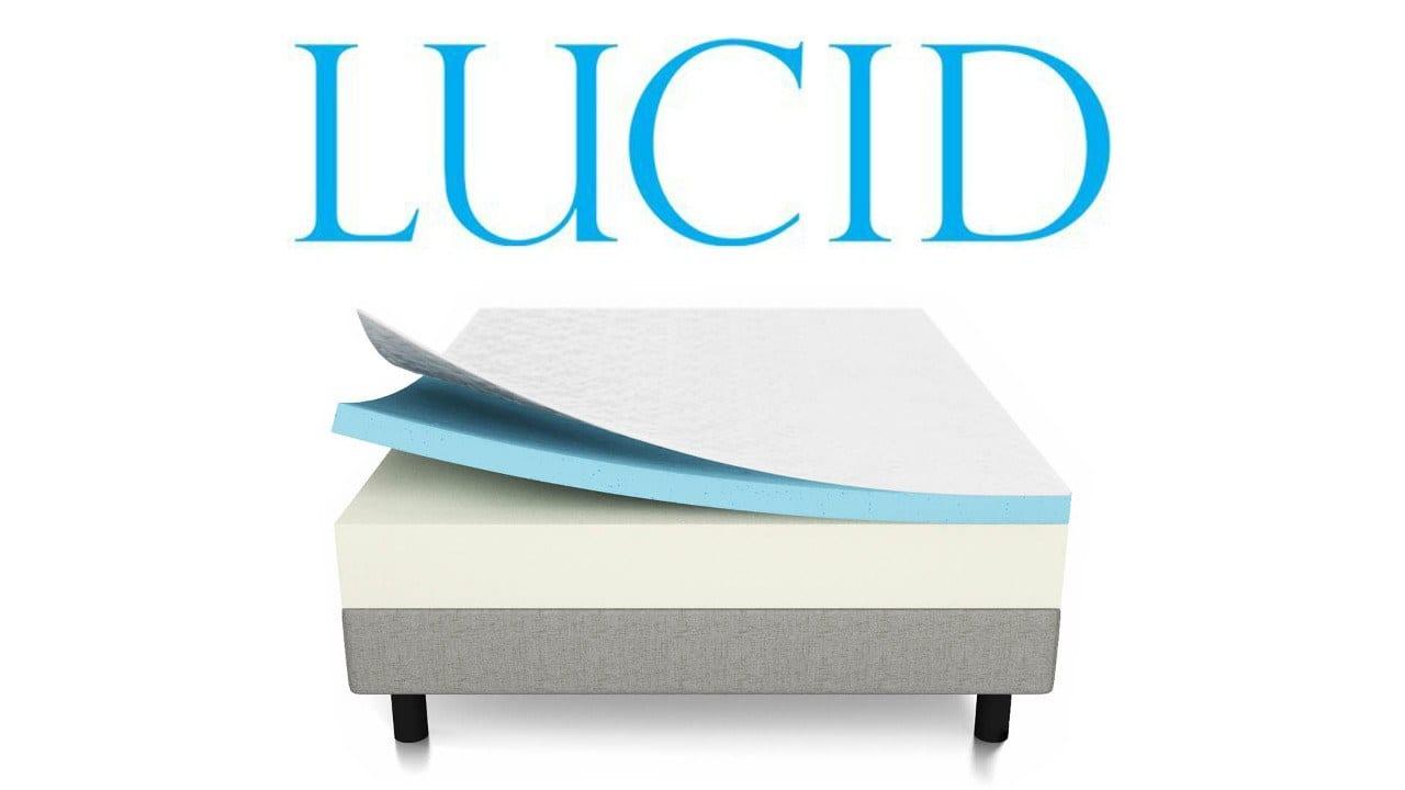 Lucid 10 Inch Gel Memory Foam