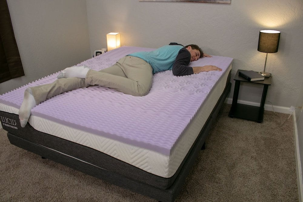 lucid mattress topper review