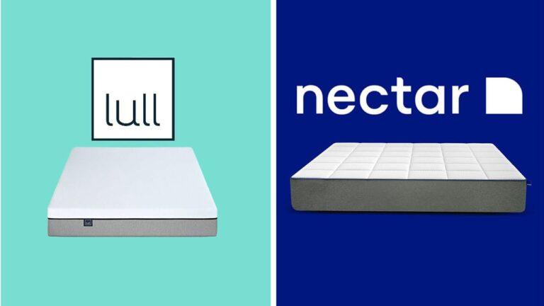 Lull vs Nectar Mattress Comparison