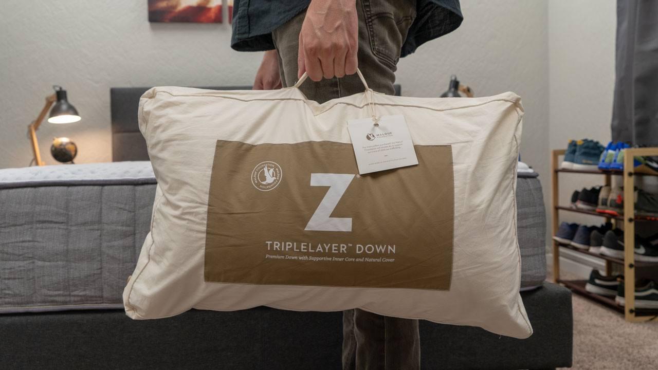 malouf z triple layer pillow case