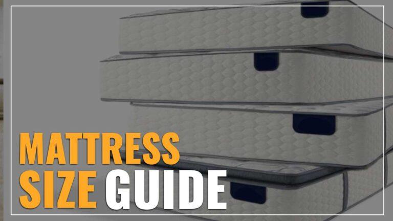 Mattress Size Chart & Dimensions Guide