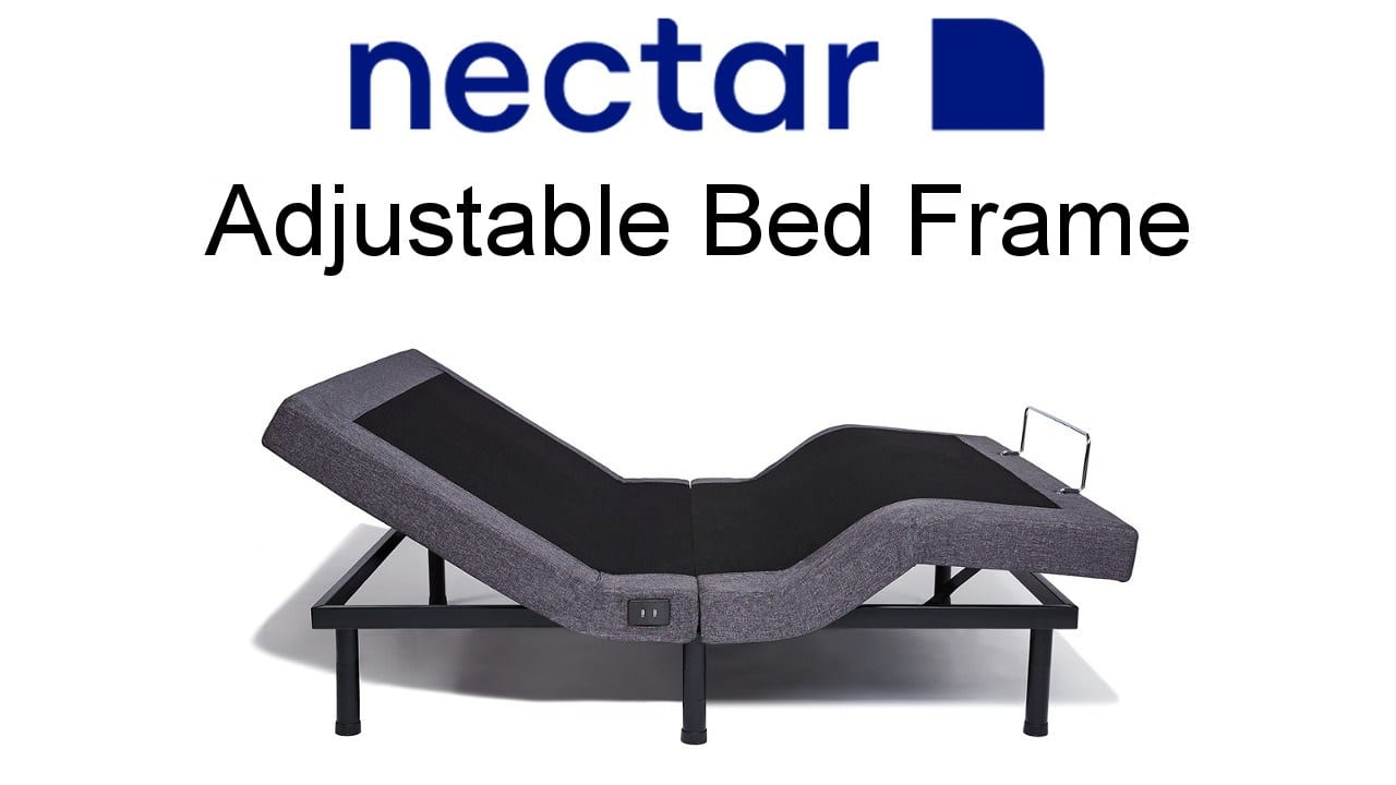 nectar adjustable bed frame review for bed in a box mattress