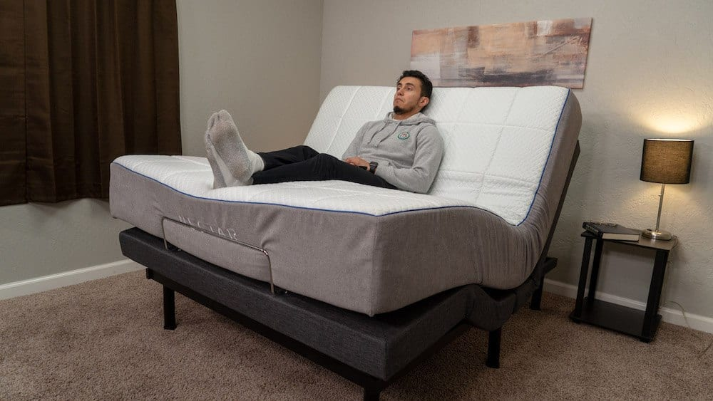 nectar sleep adjustable bed frame review