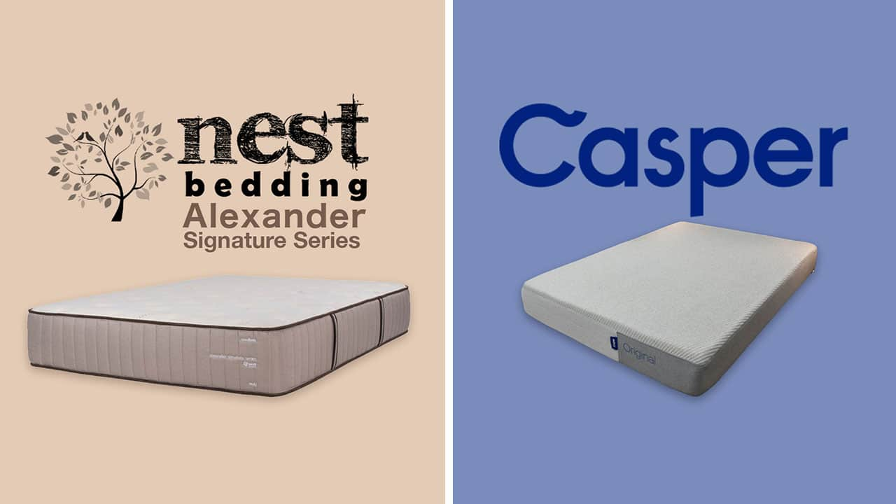 Nest Alexander vs Casper Mattress