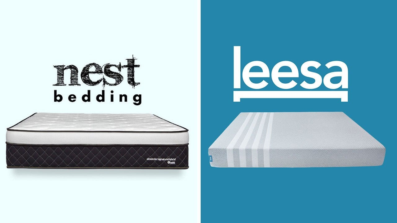 Nest Alexander vs Leesa Mattress