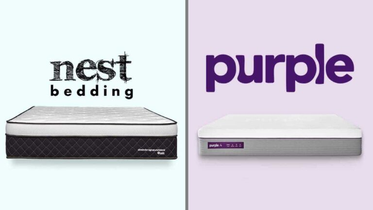 Nest Bedding Alexander vs Purple Mattress