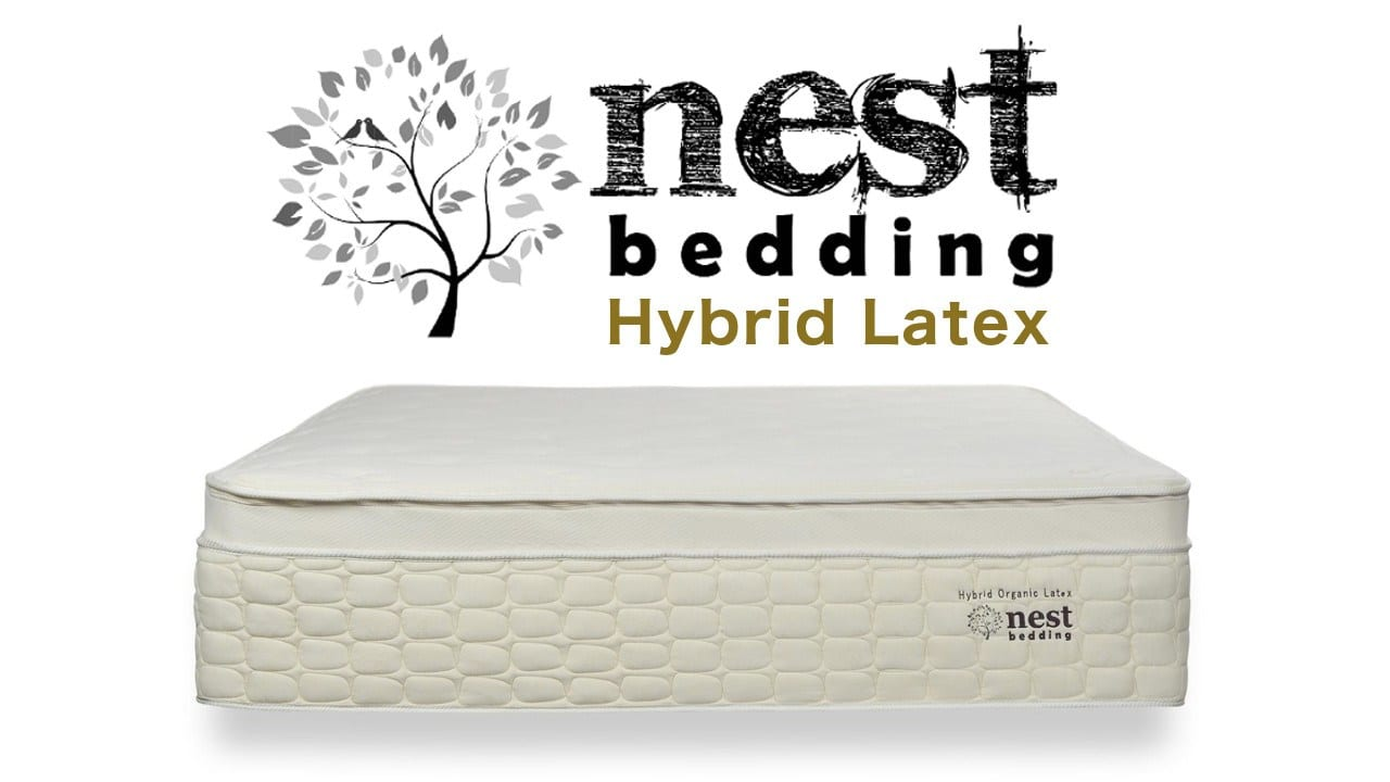 nest bedding hybrid latex mattress review coupon code discount