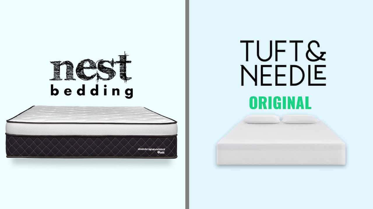 Nest Bedding vs Tuft and Needle Mattress