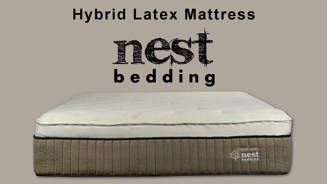 nest hybrid latex mattress review coupon code deal