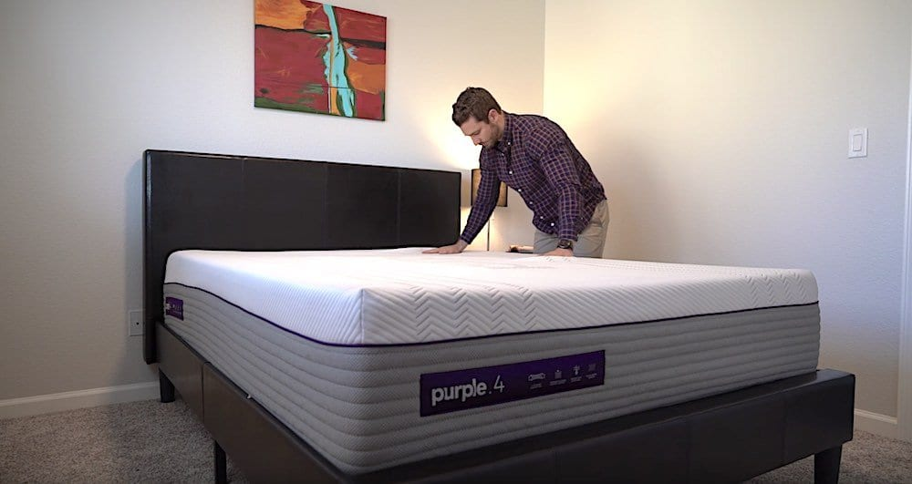 new purple mattress review purple 4 bed in a box