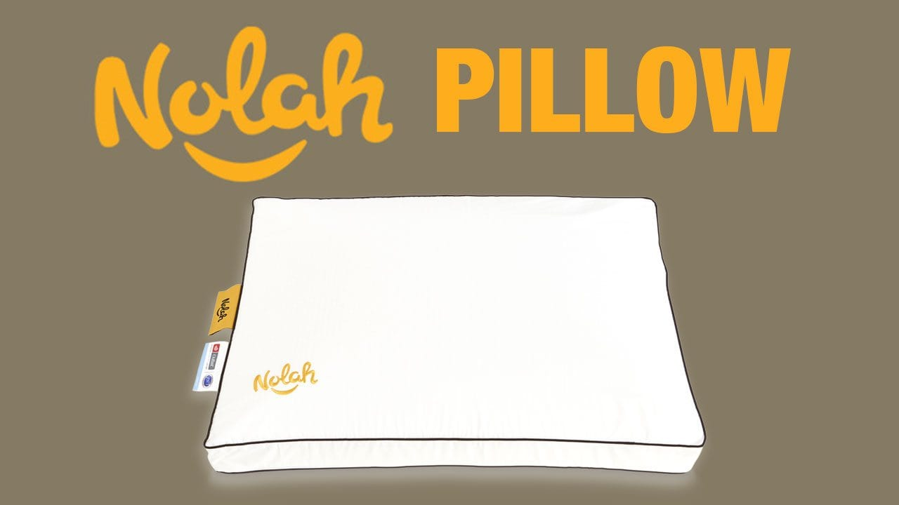 nolah pillow review airfoam and airlux