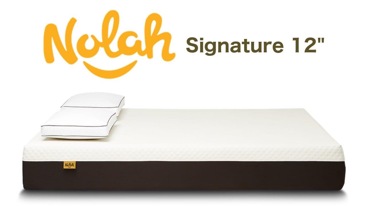 nolah signature mattress review coupon code deal