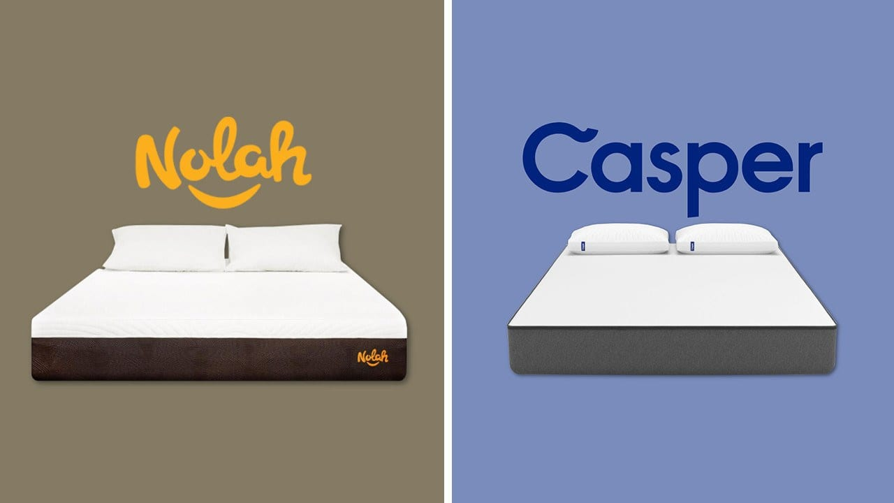 nolah vs casper mattress review comparison updated guide. Black Bedroom Furniture Sets. Home Design Ideas
