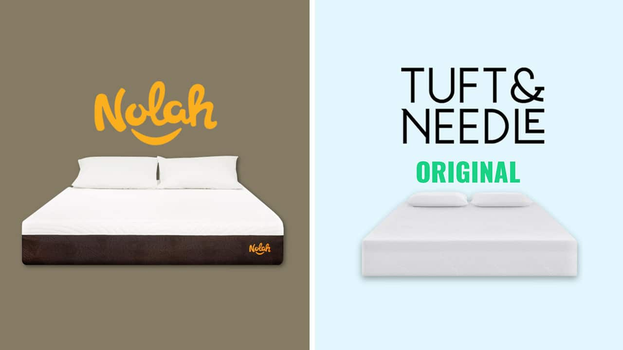 Nolah vs Tuft and Needle Mattress