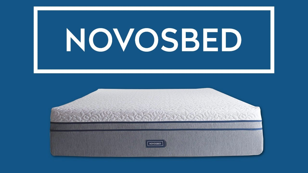 novosbed review memory foam mattress