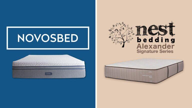 Novosbed vs Nest Alexander Mattress