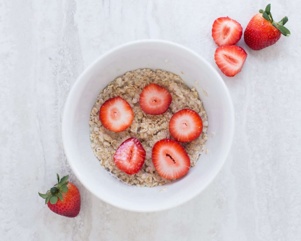 oatmeal what to eat before bed example