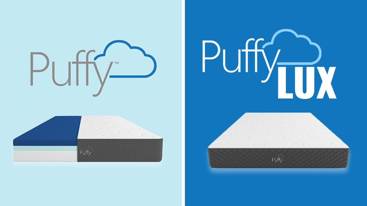 Puffy vs Puffy Lux Mattress Comparison