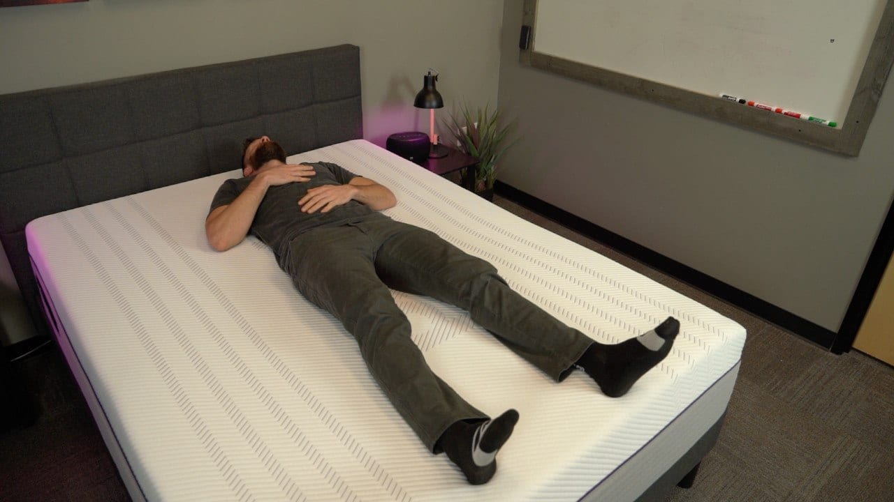 purple mattress review back sleepers
