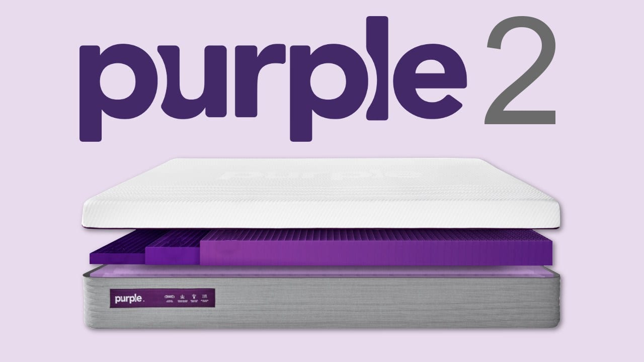 New Purple 2 Mattres Review The Future Of Bedding Right