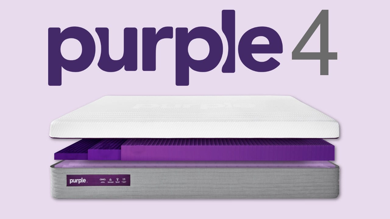 purple 4 mattress review coupon code