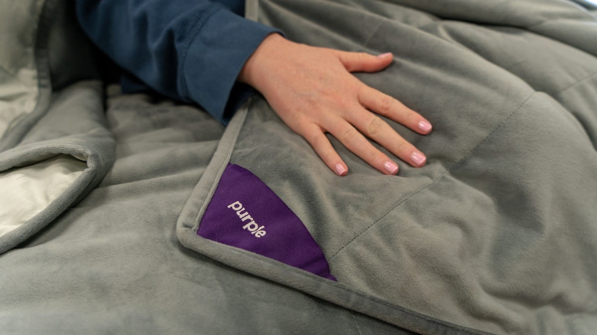 purple blanket review whats inside