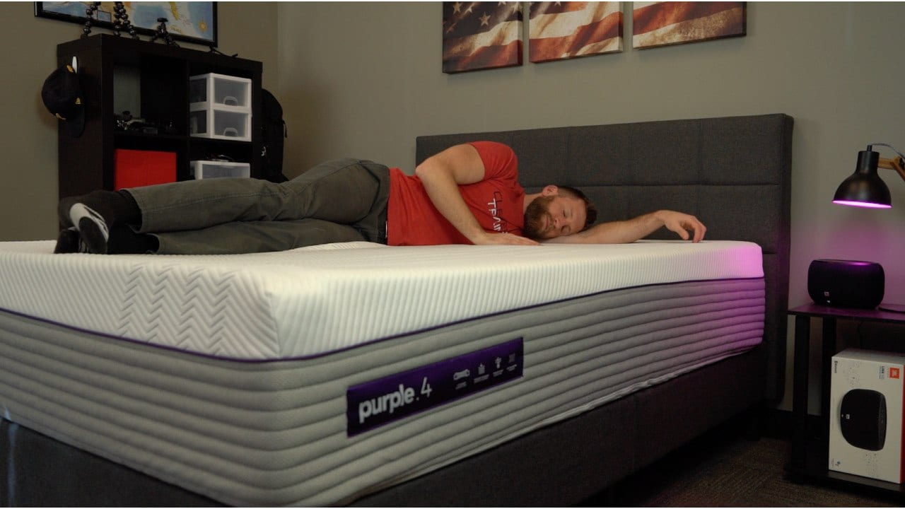 purple mattress side sleeper