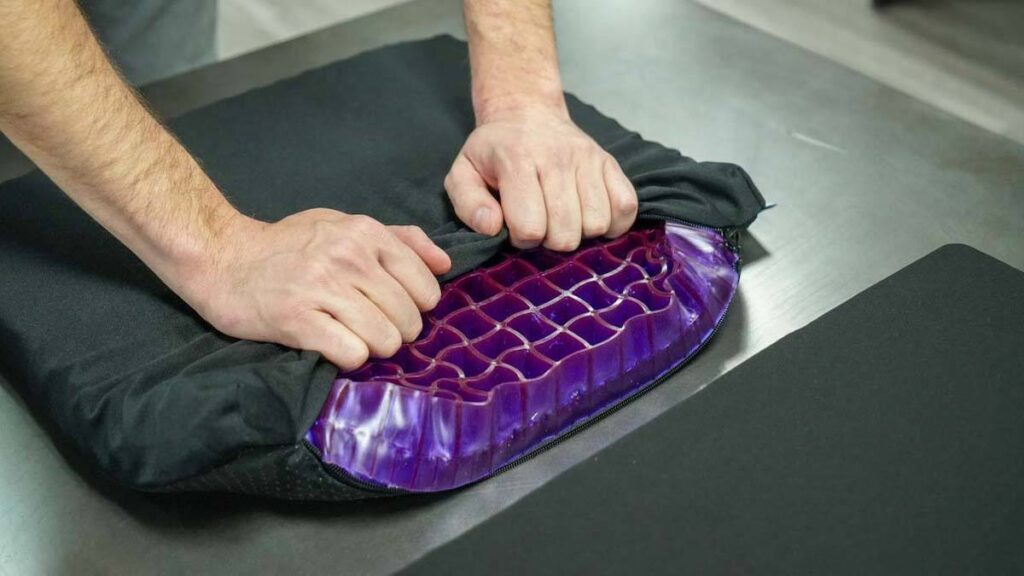 purple seat cushion review double