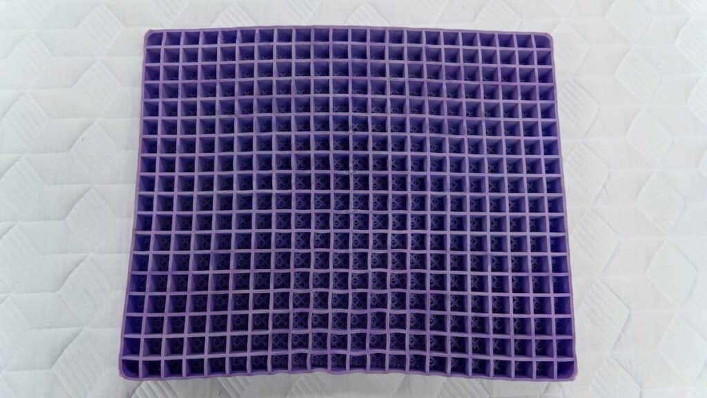 purple seat cushion review pad hyper elastic polymer