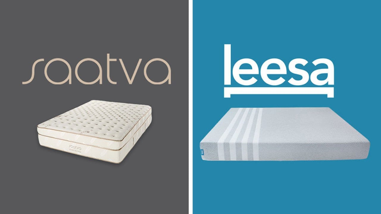 Saatva vs Leesa Mattress