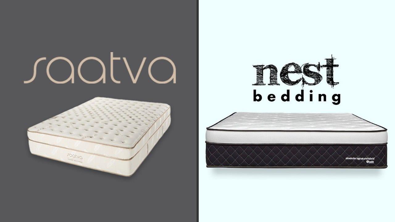 Saatva vs Nest Bedding Alexander (Hybrid Mattress)