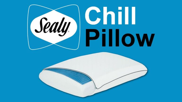 Sealy Chill Pillow Review
