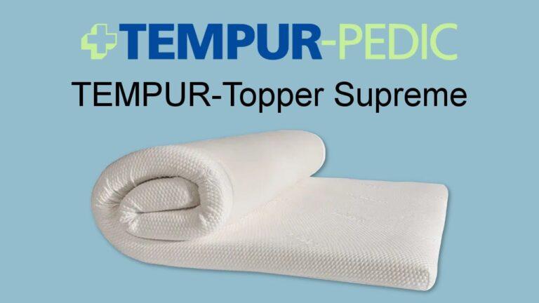 TempurPedic Mattress Topper Review