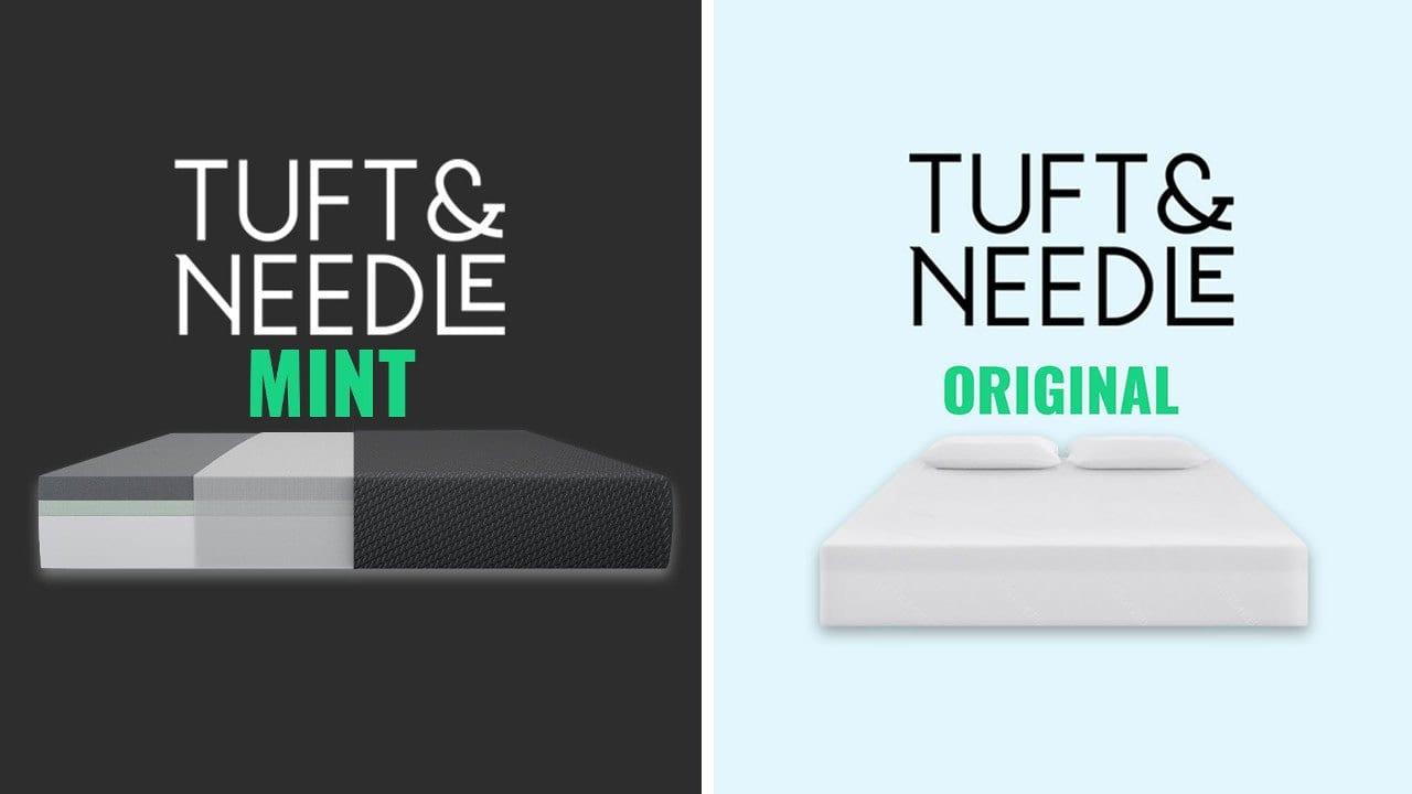 Tuft and Needle Mint vs Original Mattress Comparison