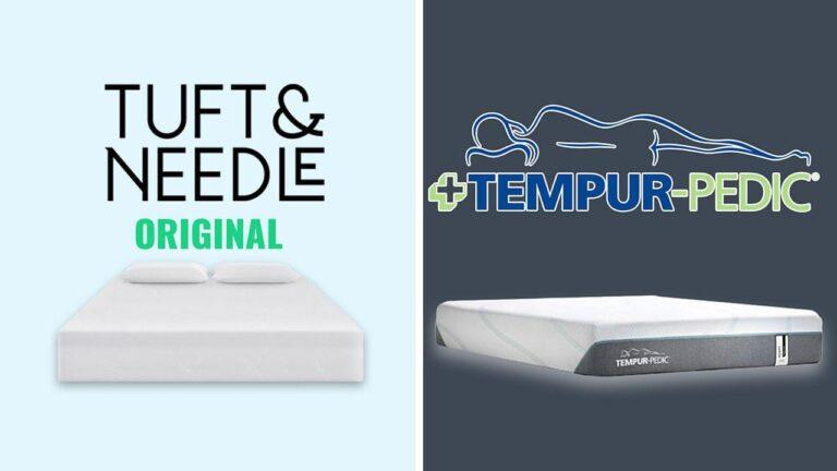 Tuft and Needle vs TempurPedic Mattress