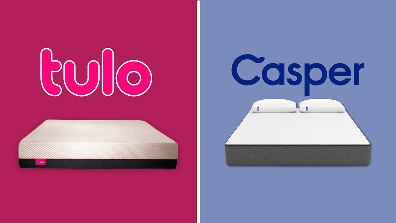 quality design 2ae7a e6ba6 Tulo vs Casper Mattress - Review & Comparison (Updated)