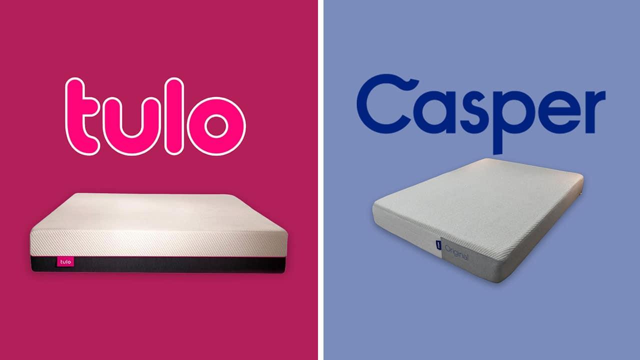 tulo vs casper mattress comparison