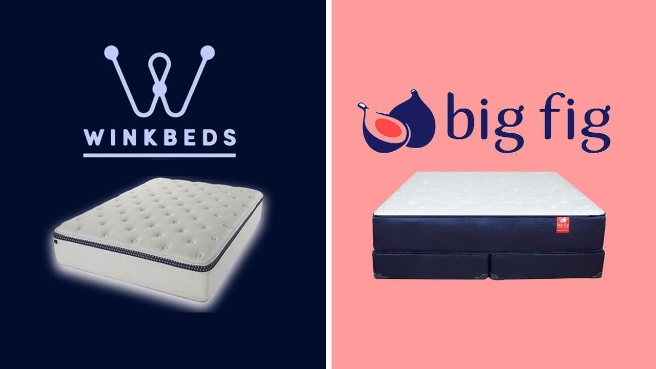 WinkBed vs Big Fig Mattress